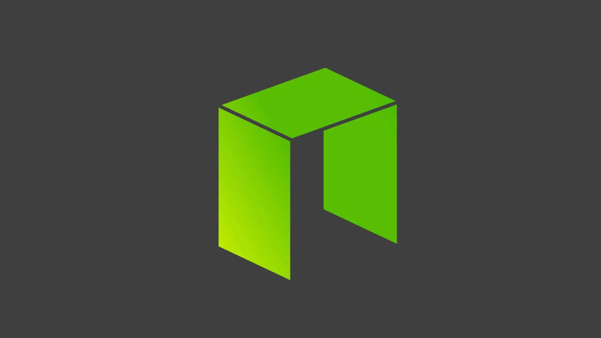 Symbol der Kryptowährung NEO