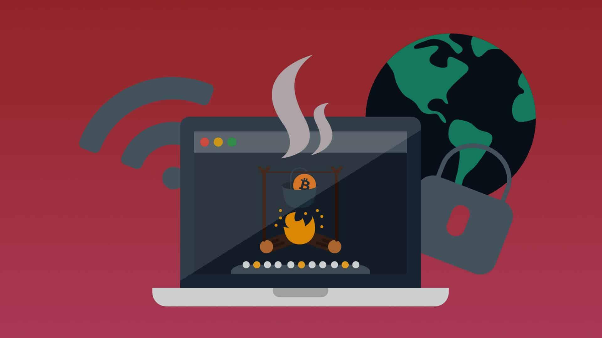 Symbole für Bitcoin, Hot Storage bezeichnet die Lagerung des Private Key online. Dies brigt Sicherheitsrisiken für Inhaben von Kryptowährungen