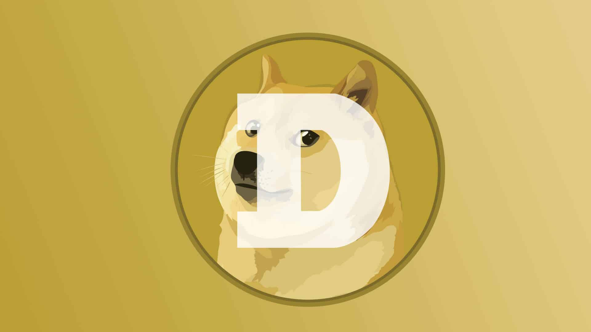 Dogecoin Kryptowährung, to the moon