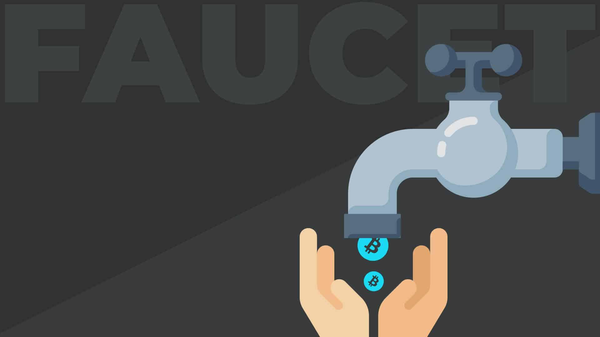 Ein Faucet ist wie ein Wasserhahn für Kryptowährungen wie Bitcoin, Dogecoin und andere Kryptowaehrungen